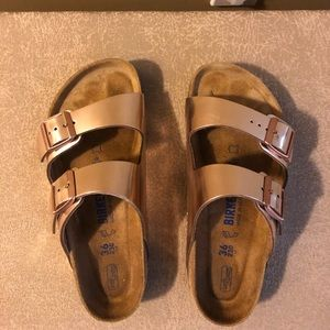 Birkenstock Rose Gold Arizona Style EU 36